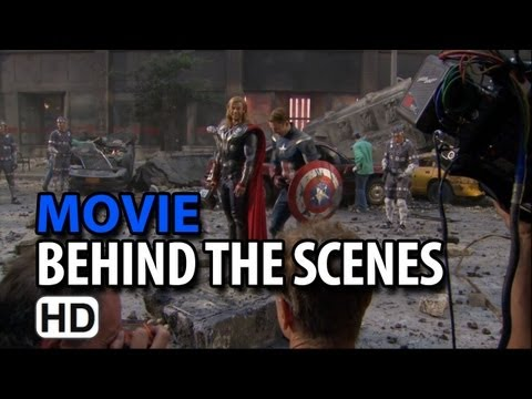 The Avengers (2012) B-Roll #2 Making of & Behind the Scenes