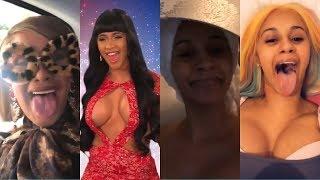 cardi b's funny videos cured my depression | pt.2