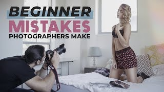 3 BEGINNER MISTAKES Photographers Make - PLUS How to Fix Them!