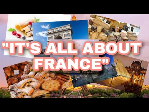 """"""" ALL ABOUT FRANCE"""" 