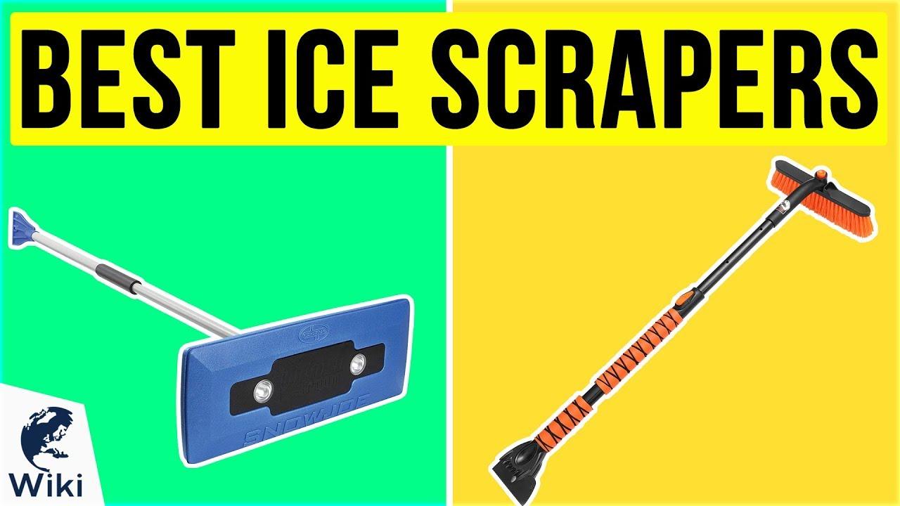 Ice Scraper Metal Blade Edge Car Windscreen Hanging Glovebox Winter Frost Snow