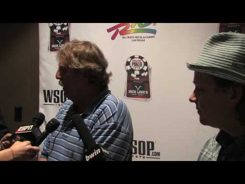 World Series Of Poker Main Event Bubble Boy Interview