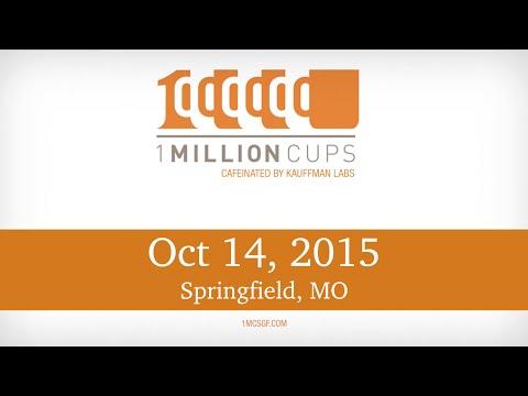 1 Million Cups--Springfield-- essets & Modern Craftsman Design Group Oct 14, 2015