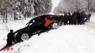 #8 Самые страшные Аварии ЗИМА  Декабрь 2015 - ДТП Car Crash Compilation winter