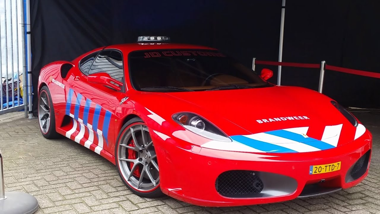 bugatti veyron ferrari f430 dutch police and fire dept cars youtube. Black Bedroom Furniture Sets. Home Design Ideas