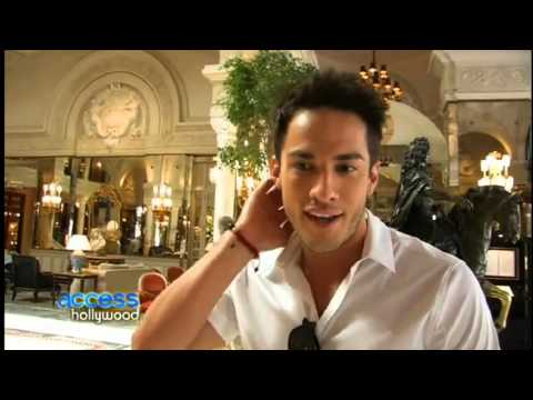 Michael Trevino's Access Hollywood  2012