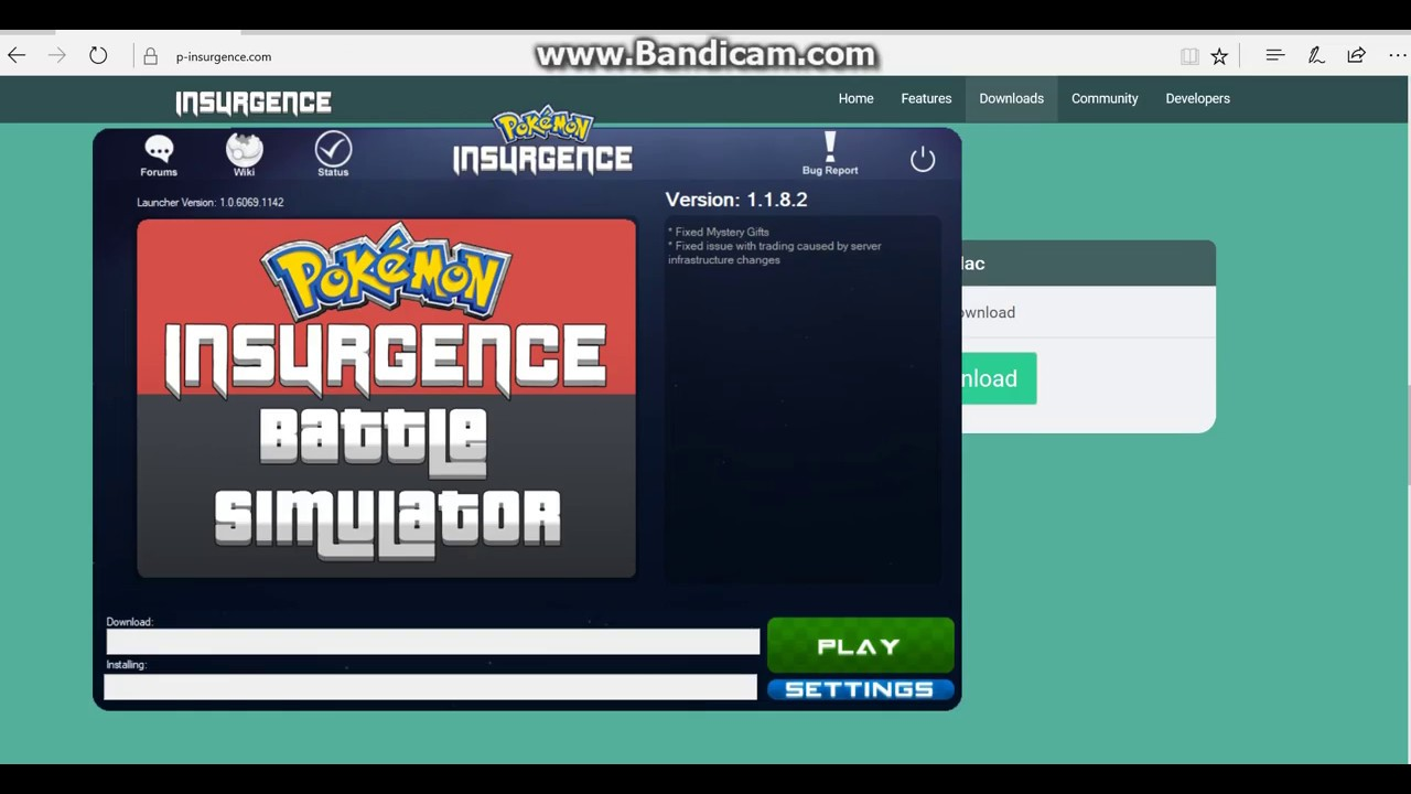 pokemon insurgence how to download old patches