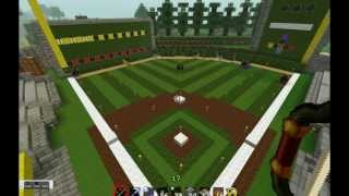 Minecraft Baseball Game - No mods!