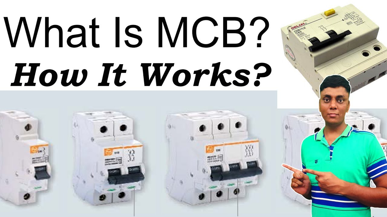 difference between mcb and elcb pdf