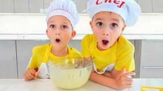 Vlad Và Niki Nấu ăn Chơi Cùng Mẹ - Truyện Vui Thiếu Nhi