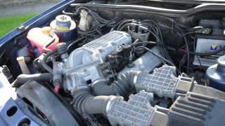 Ford Sierra XR4x4 2.9 Cologne V6 Engine Running