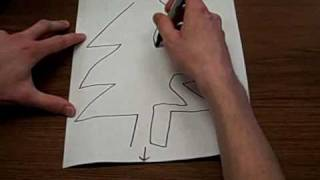How to Draw a Picture Maze