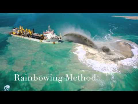 Land Reclamation In Dubai Youtube