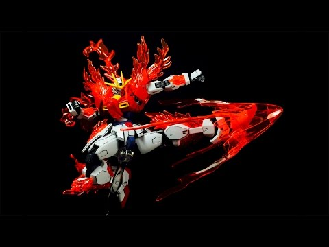 1/144 HGBF TRY Burning Gundam | REVIEW