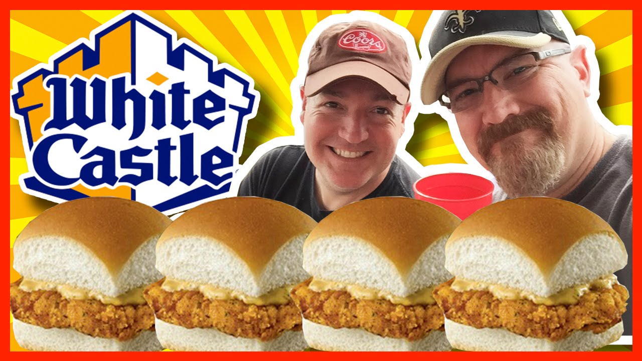 ★ White Castle ★ Sriracha Chicken Sliders Review with Paul in Nashville, Tennessee