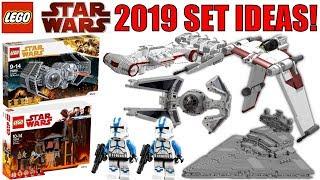 LEGO Star Wars 2019 Set Ideas!