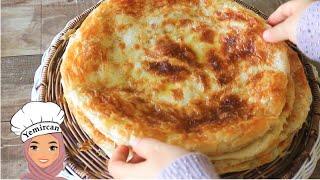 خبز الملوح اليمني بطريقتي خطوة خطوة ومن غير تنور   Yemeni Malawah / Delicious Bread