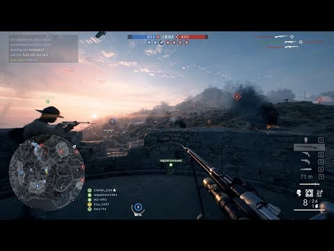 Battlefield 1 RAW Gameplay Scout 26 - New map! Cape Helles (44K14D)
