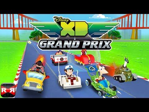 Disney XD Grand Prix (By Disney) - iOS - iPhone/iPad/iPod Touch Gameplay