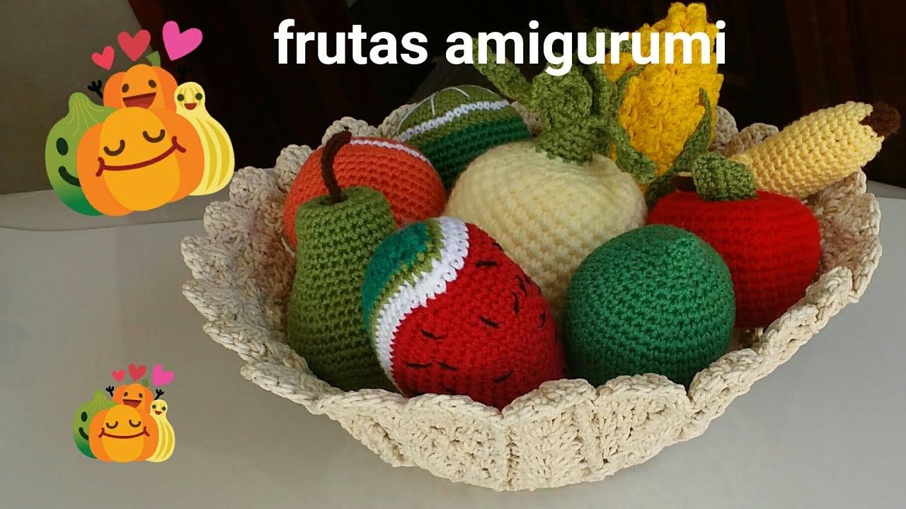 Frutas crochet. Amigurumi fruta. Fruta kawaii crochet. Frutas de ... | 720x1280