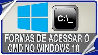 10 maneiras para abrir o Prompt de Comando no Windows 10