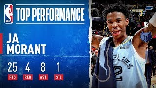 Ja Morant WENT OFF For 25 PTS & 8 AST