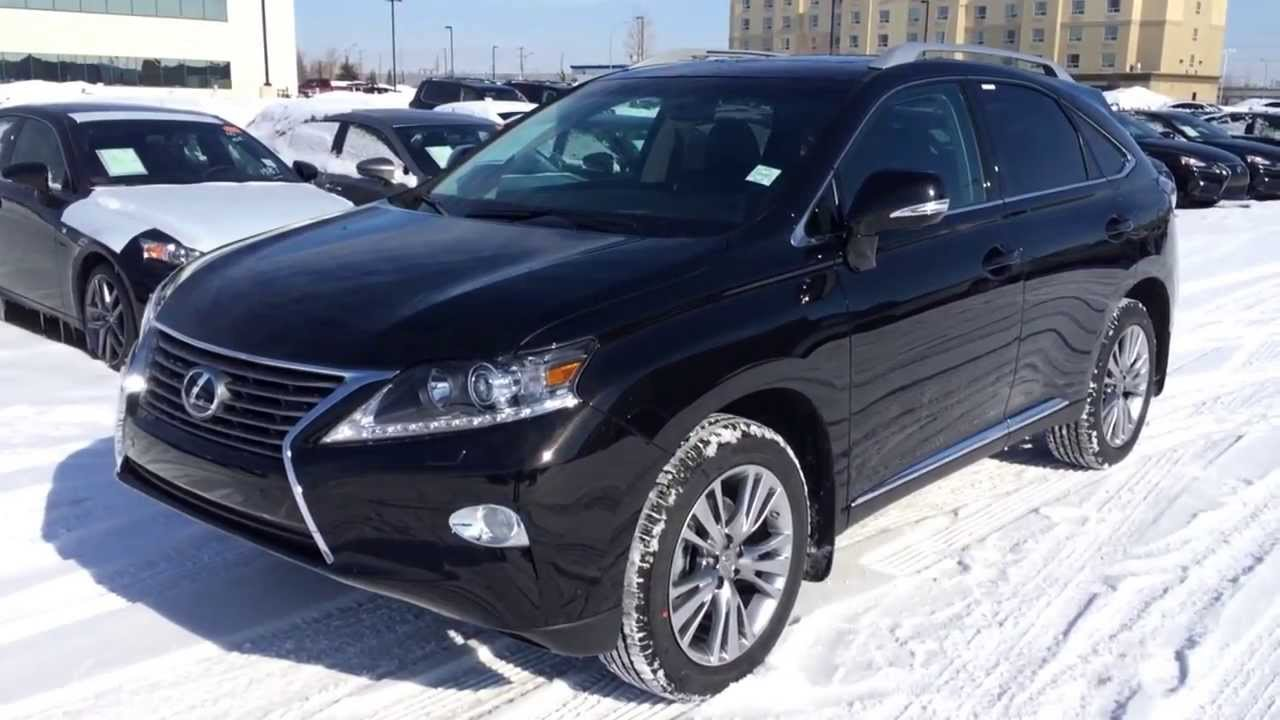 2014 lexus rx 350 awd technology package review in black edmonton youtube. Black Bedroom Furniture Sets. Home Design Ideas