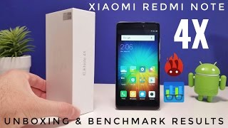 Xiaomi Redmi Note 4X UNBOXING & Benchmark Results - Snapdragon 625