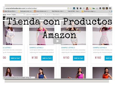 Crear una Tienda con Productos de Amazon en Wordpress