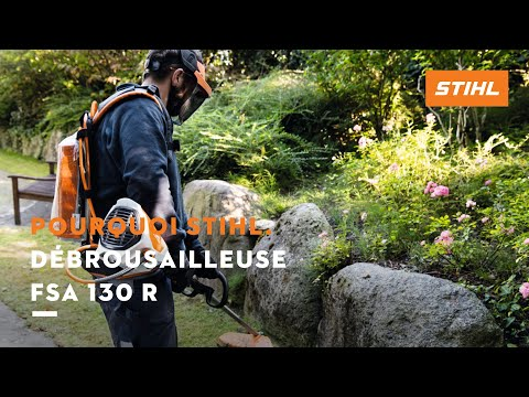 d broussailleuse batterie fsa 130 r stihl youtube. Black Bedroom Furniture Sets. Home Design Ideas