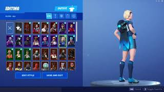 Best Skin That Goes with *Neon Blue* Retribution Back Bling-Fortnite