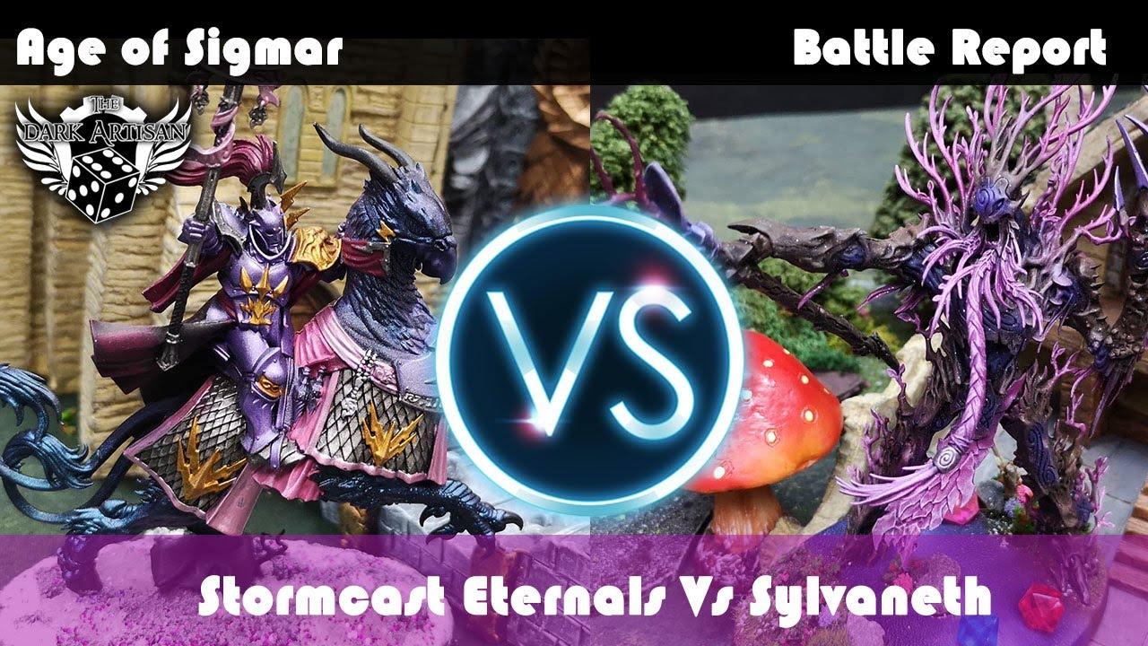 Sylvaneth Vs Stormcast Eternals Age of Sigmar Battle Report