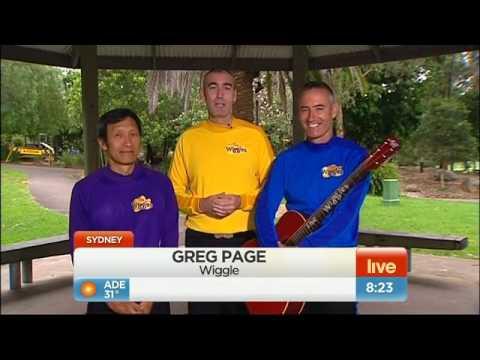 The Wiggles On Greg's Return - Sunrise - January 19th, 2012