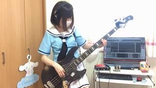 【BanG Dream!】ティアドロップス のベース弾いてみた ちいぱんchiipan
