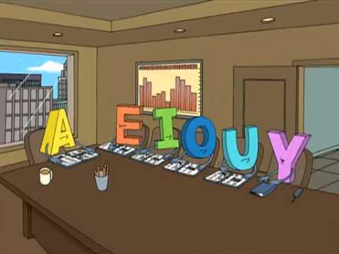 Family Guy AEIOU Meeting