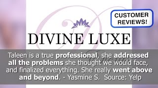Best Wedding Planner Reviews! - Divine Luxe Events - Glendale, CA - REVIEWS