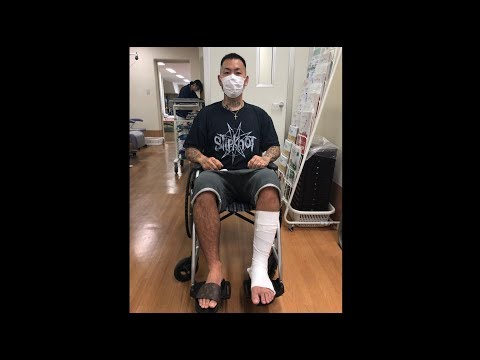 TikTokでアキレス腱を部分断裂する男。SHO FREESTYLE TV Part 781