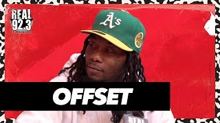 Offset talks Relationship with Cardi B, Top Rap Groups, New Album + More!