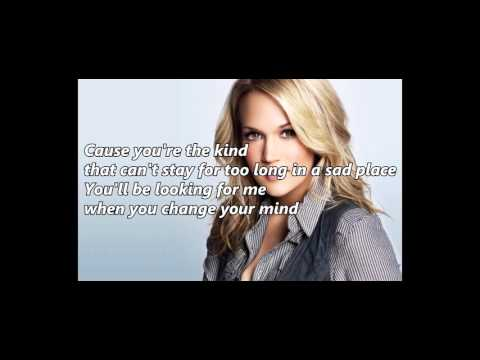 Carrie Underwood - Chaser (with lyrics)