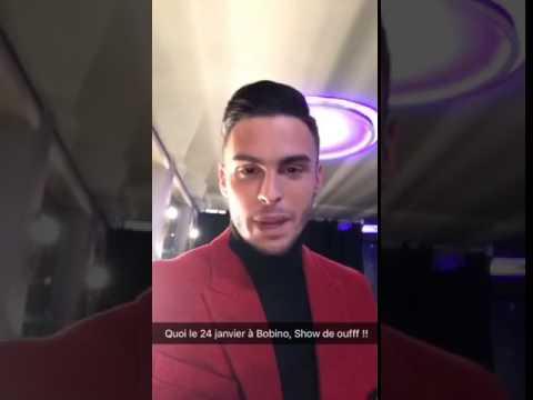 Baptiste Giabiconi s'est transformé en Kamel Le Magicien