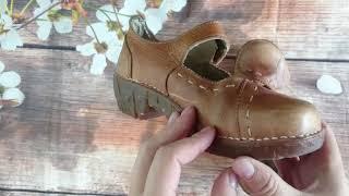 Обзор и продажа Туфли в Мэри Джейн стиле из натуральной кожи El NaturaLista.