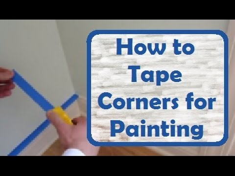 Tape Baseboard Corners How To Cleanly Cover And Door Frames Before Painting