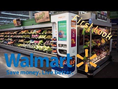 Freeosk Dispenser (free samples) - Rice Krispies Treats @ Walmart
