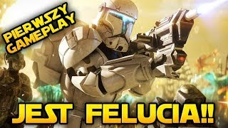 FELUCIA JUŻ JEST!  Szybka Akcja Gameplay! Star Wars Battlefront 2 PL