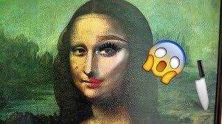 The Power Of Makeup - Mona Lisa