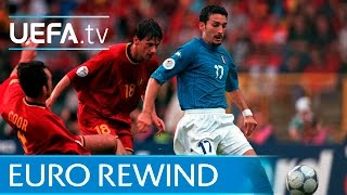 EURO 2000 highlights: Italy 2-0 Belgium