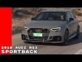2018 Audi RS3 Sportback Test Drive, Interior, Walk Around