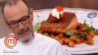 Breakdowns In Michael Bonacini's Leña Restaurant | MasterChef Canada | MasterChef World