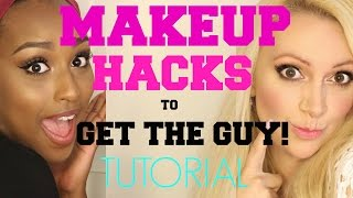 Makeup HACKS to Get the GUY! TUTORIAL and TARTE Giveaway FT Aysha Abdul