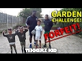 Ultimate Garden FORFEIT Challenge!! | PUNCH IN THE FACE OR A SLIME BATH??